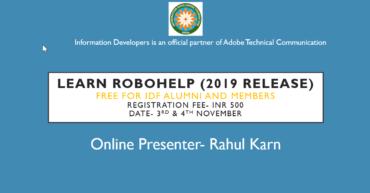 learn Robohelp2019