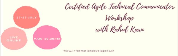 Certified Agile Technical communicators