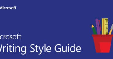 Microsoft Writing Style Guide
