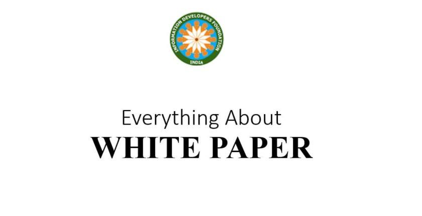 How to write whitepaper